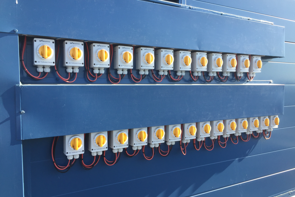 KATKO switches installed to a solar plant at a new Onninen